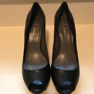 Cole Haan Nike Air dress peep toe shoes